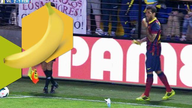 Äter bananer mot rasism