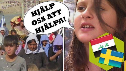 Hon kämpar för fred i Irak