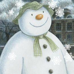 Snögubben och snöhunden