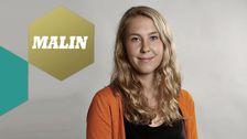 Malin jobbar som reporter. malin.andersson@svt.se