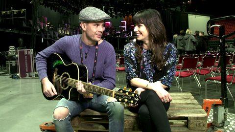 Robin Bengtsson drömmer om Melodifestivalen