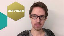 Mathias jobbar som webbredaktör. mathias.gerdfeldter@svt.se