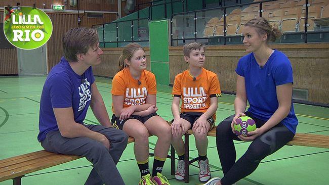 Lilla Sportspegeln träffar Bella Gulldén.