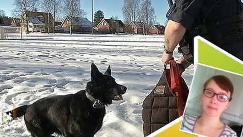 ER NYHET: Polishunden stoppade pistolman!