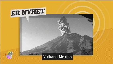 #ERNYHET Dubbelt vulkanutbrott