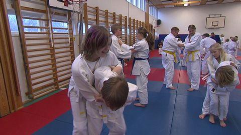 Luna på judoläger