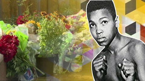 Boxningslegenden Muhammad Ali är död