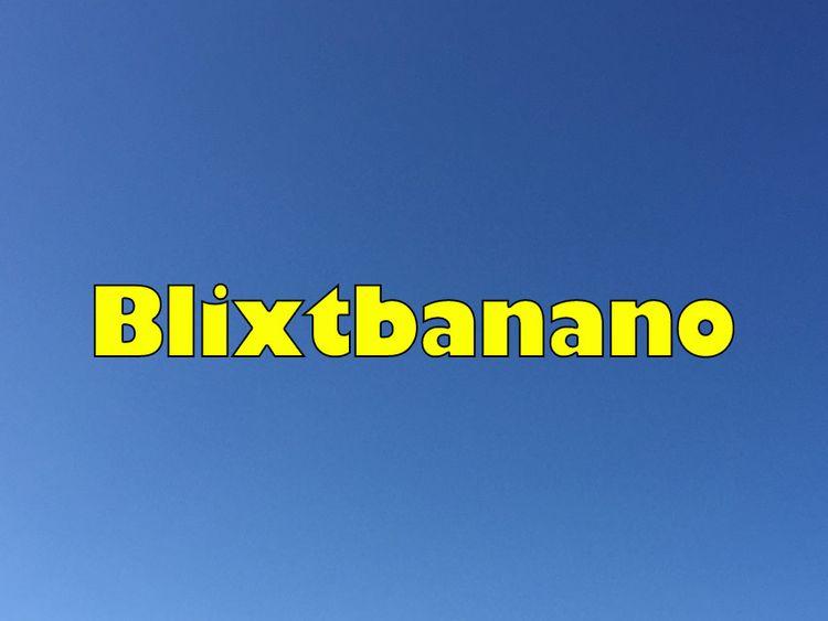 Blixtbanano