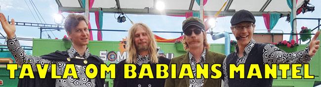 Tävla om Babians signerade mantel.