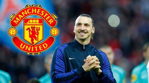 Zlatan klar för Manchester United