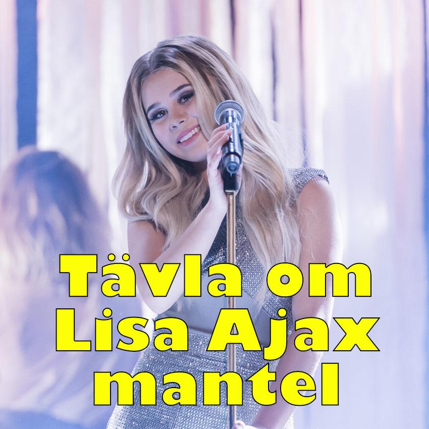 Tävla om Lisa Ajax signerade mantel.