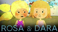 Rosa och Dara på sommarlovsäventyr