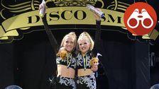 Enni och Stella vann disco-SM