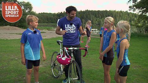 Stephan får triathlon-tips
