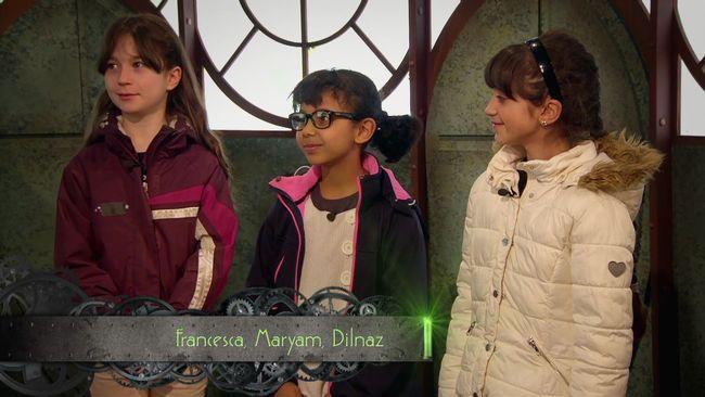 Francesca, Maryam och Dilmaz är säsongens första utmanare!
