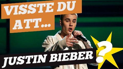 Hade du koll på allt detta om Bieber?