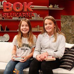 Bokslukarnas Rut och Thea tipsar om böcker i Go'kväll.