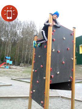 Haris Franca gillar att klättra.