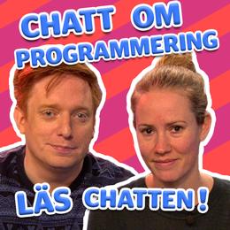 Läs chatten om programmering