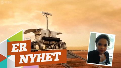 Er nyhet: Rymdfarkost framme vid Mars