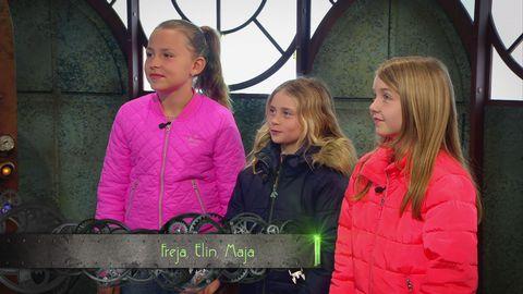 Freja, Elin och Maja är femte veckans utmanare