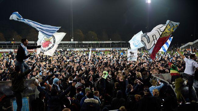 Firande av Malmö FF:s 19:e SM-guld