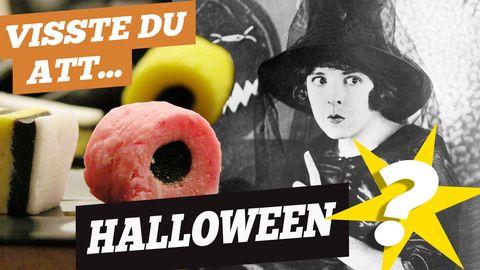 Visste du att Halloween?