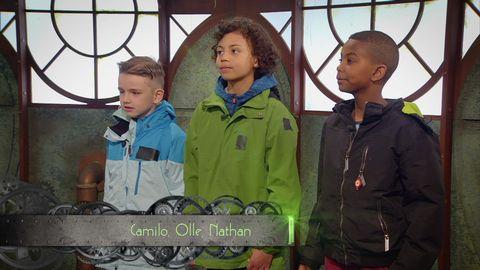 Camilo, Olle och Nathan