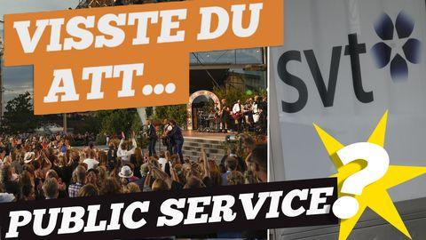Visste du detta om public service?