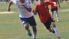 """Ronja, 10: """"En bild på min borsa när han spelar fotboll i Shanghai"""""""