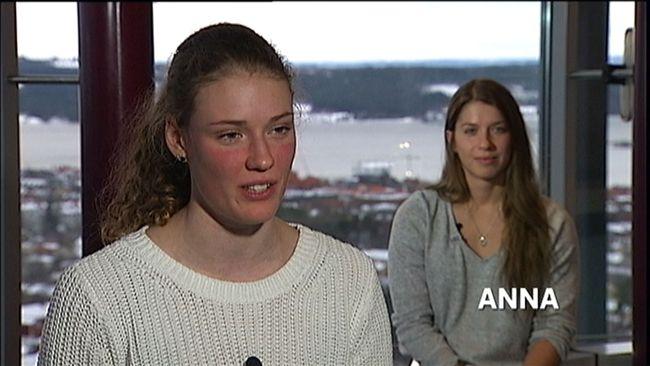 Hanna Öberg och Anna Magnusson