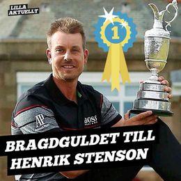 Henrik Stensson vann bragdguldet!