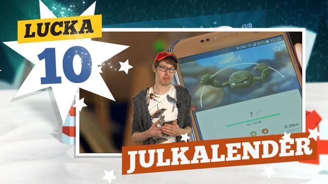 Lucka 10: Lilla Aktuellts julkalender 2016