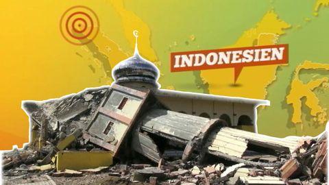 Förödelse i Indonesien