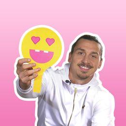 Lilla Aktuellt träffar Zlatan