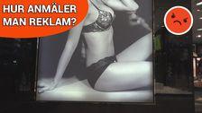 Bröst och rumpor i reklam - är det okej?