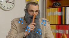 Stava med skägg-musikvideos