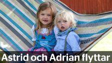 Astrid och Adrian flyttar