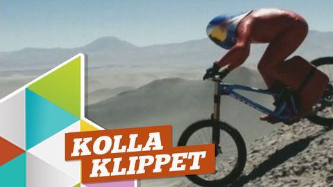 Kolla in rekordåket på cykel!