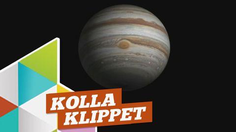 Kolla nya bilderna på Jupiter!
