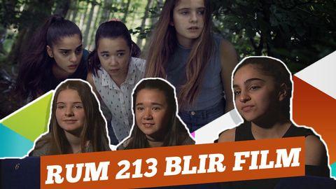 Rum 213: Så är det att vara med i filmen