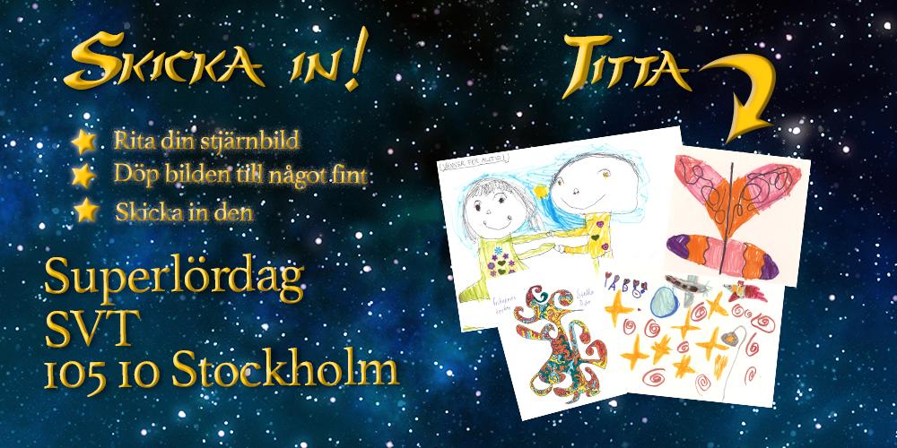 Skicka in din stjärnbild - och titta på alla inskickade teckningar