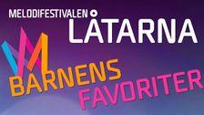 Melodifestivallåtar - barnens favoriter