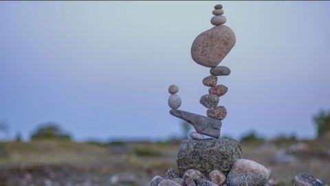 Stenar som balanserar