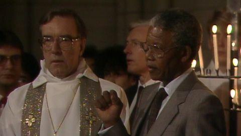 Ekumenisk gudstjänst med Nelson Mandela