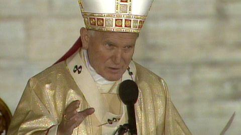Johannes Paulus II i Vadstena