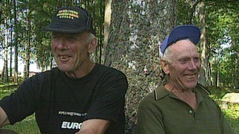 Erik och Sigvard (syntolkad)
