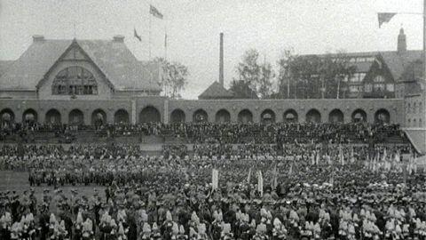 Avsnitt 5 av 200: Svenska flaggans dag 1916