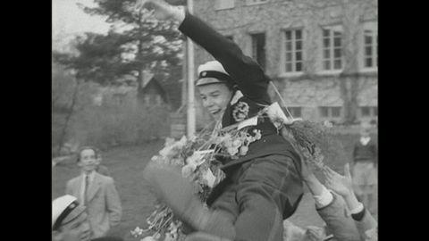 Studentexamen på Sigtunaskolan 1944