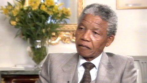 Nelson Mandela i Stockholm